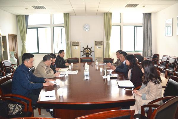 王红带队到中南财大工商管理学院 取经